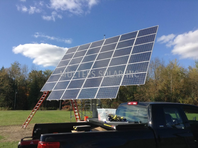 Residential Solar Panel Installation in Peterborough Morton Line