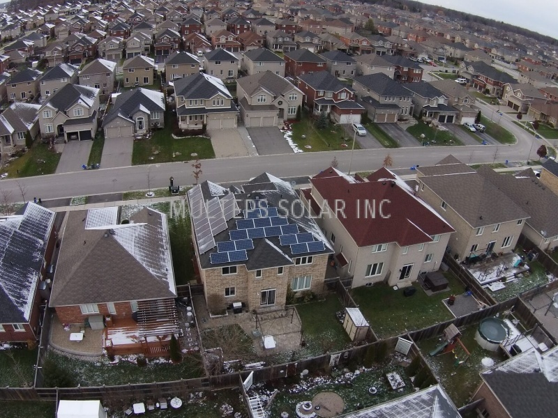 Residential Solar Panel Installation in Barrie Falcon Crescent