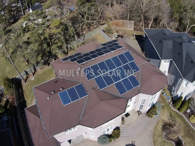 Residential Solar Panel Installation in Scarborough John Graham Court